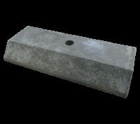 Опора бетонная Ф1 под стойку Д57мм для дорожных знаков