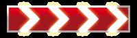Светодиодный, активный знак 1.34.1-3 (2250х500мм)