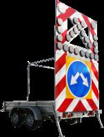 Дорожный прицеп прикрытия Тип 3А двуосный