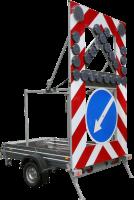 Дорожный прицеп прикрытия Тип 2А одноосный