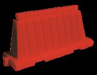 Блок дорожный вкладывающийся 1,2м (красный)