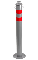 Столбик анкерный Д76мм, H=750мм