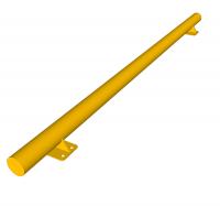 Колесоотбойник металлический прямой L=2,0м