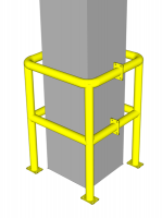 Ограждение для защиты колонн