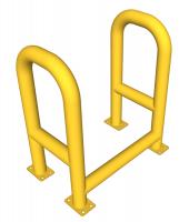Ограждение для защиты пожарных шкафов