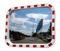 Зеркало дорожное прямоугольное 600х400мм