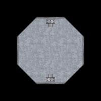 """Основа дорожного знака """"восьмиугольник"""""""