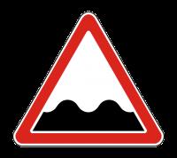 Знак 1.16 Неровная дорога